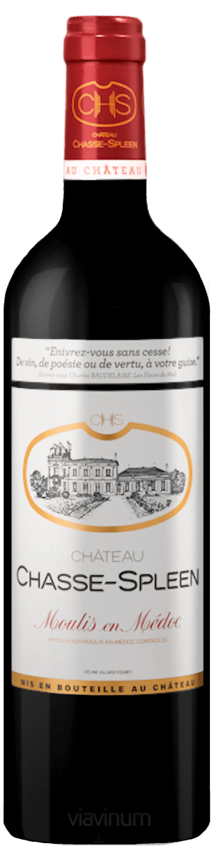 Château Chasse-Spleen 2016 75Cl Château Chasse Spleen  Expédition sous 24/48h
